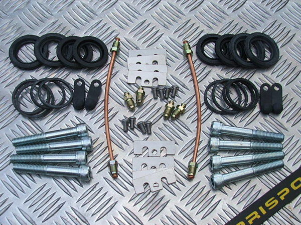 Alfa 147 - GTV etc Brembo Caliper rebuild kit complete with seal kit - 2 calipers